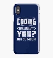 Funny coding shirt  iPhone Case/Skin