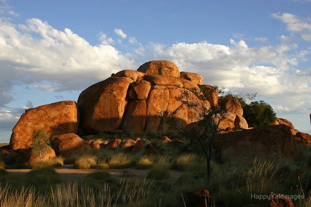 Devil's Marbles I by HappyYakImages