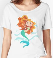 Swimming Mermaid Women's Relaxed Fit T-Shirt