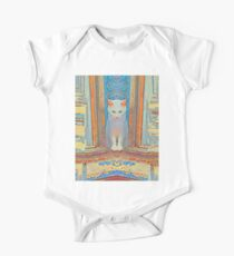 Symmetrical cat One Piece - Short Sleeve