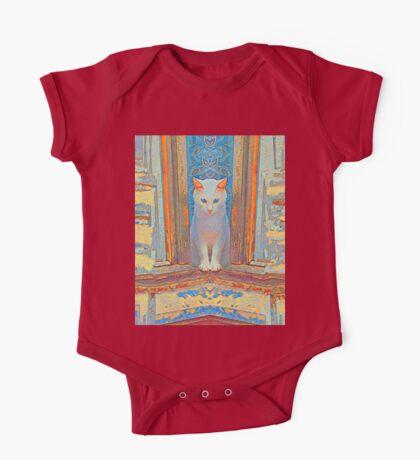 Symmetrical cat Kids Clothes