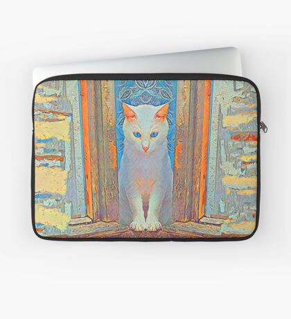 Symmetrical cat Laptop Sleeve