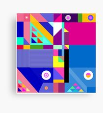 colorful happier life Canvas Print