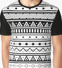 Geometric pattern. Abstract linear background Graphic T-Shirt