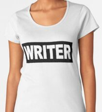 Castle - Richard Castle - Writer Women's Premium T-Shirt