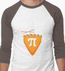 Funny Math Piece of Cake Pi 3.14 Pumpkin Pie Pun  T-Shirt