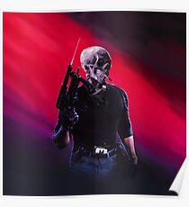 Cobra Skeleton Poster