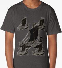 Viking Ships Long T-Shirt