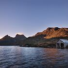 Classic Boat Shed by Claire Walsh