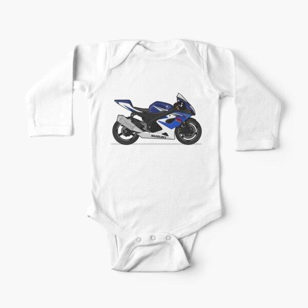 Suzuki Gixxer Car Logo infant Baby Unisex Clothes One PIECE Bodysuit