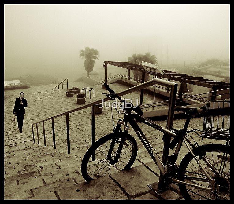 Foggy day in Tel Aviv by JudyBJ