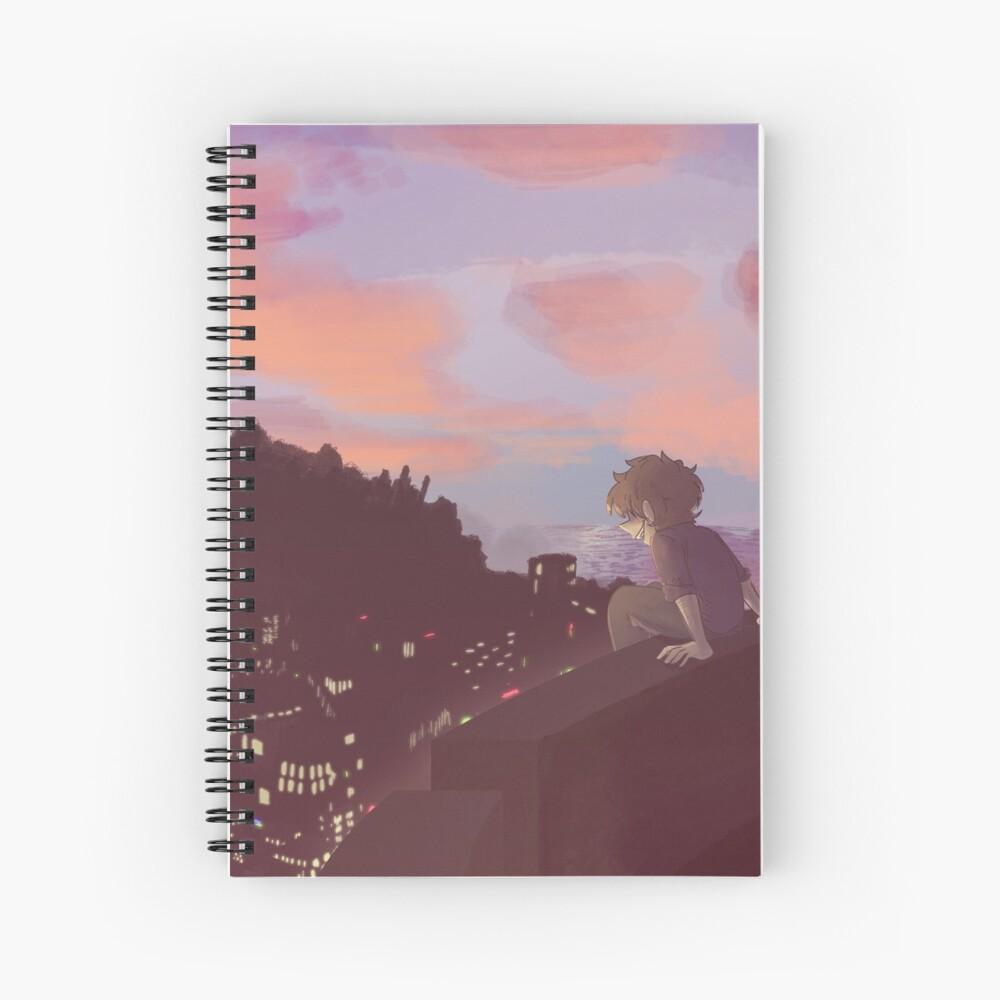 Colina Bay Spiral Notebook