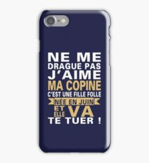 juin iPhone Case/Skin