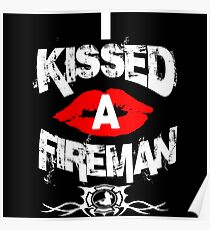 I kissed a fireman Poster