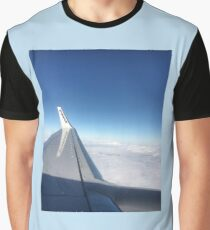Wingsie from a Ryanair Plane Graphic T-Shirt