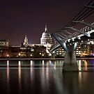 New And Old London by Daniel Knights