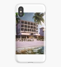 Beach Side Exterior House Rendering by 3D Yantram Architectural Modeling Firm Paris France iPhone Case/Skin