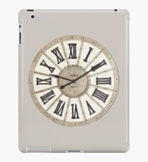 Classic Clock iPad Case/Skin