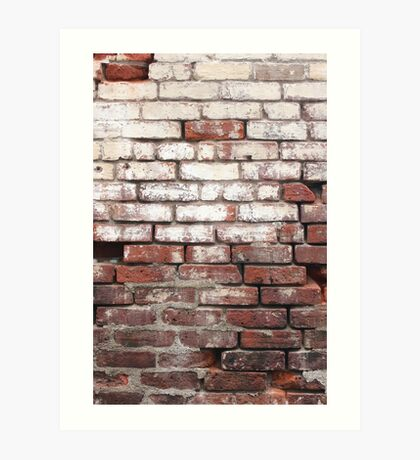 Broken Wall 3 Art Print