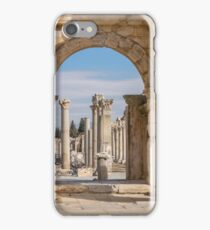 Unesco Heritage Site of the Ancient City of Ephesus, Selcuk, Turkey iPhone Case/Skin