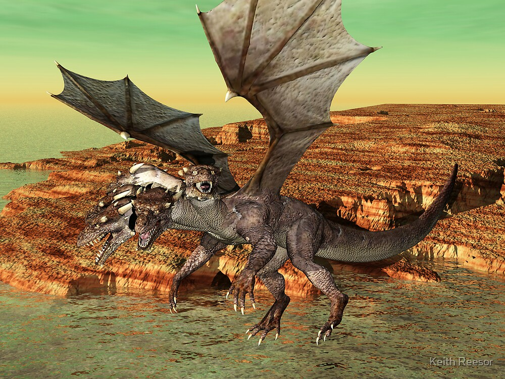 5-Headed Dragon by Keith Reesor