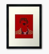 xander harris Framed Print
