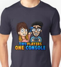 Maglietta dei TWO PLAYERS ONE CONSOLE Unisex T-Shirt