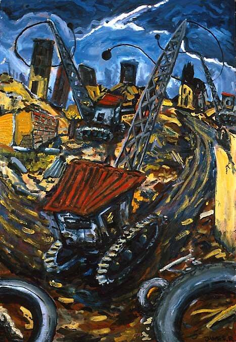Demolition by Wyn Richards