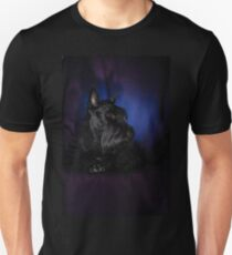 Studio shot of a Scottish Terrier pedigree dog  T-Shirt