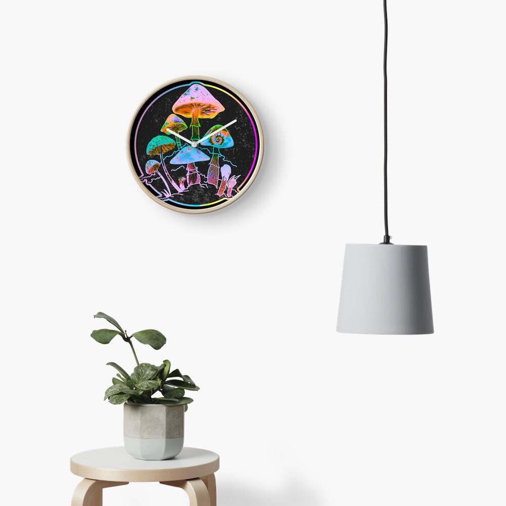 Garden of Shrooms 2020 Clock