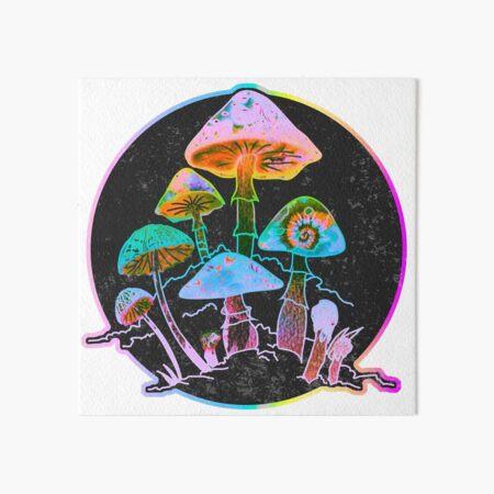 Garden of Shrooms 2020 Art Board Print