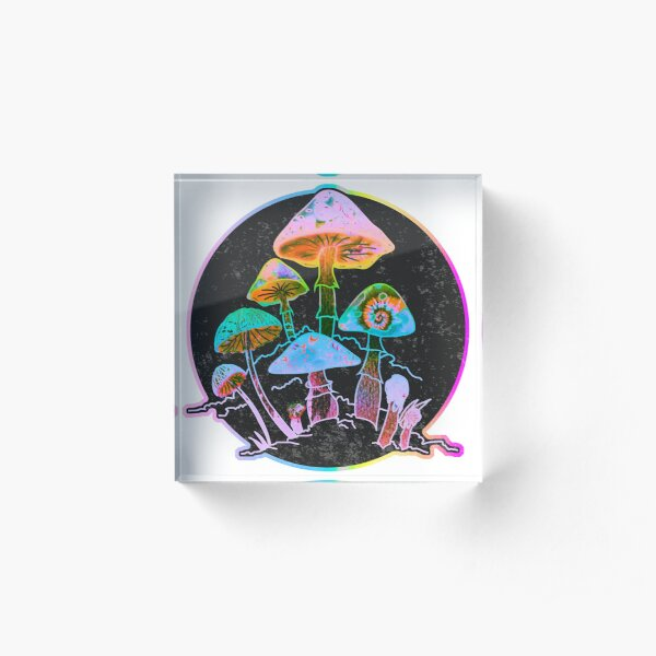 Garden of Shrooms 2020 Acrylic Block