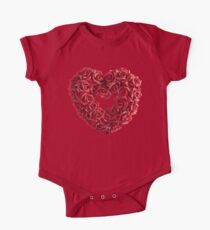 Love Heart of Red Rose Kids Clothes