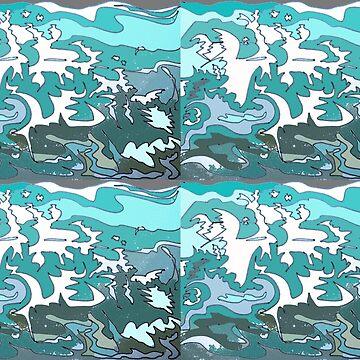 Splash patterns by TonyBroadbent