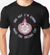 Zwiebel Gesicht > Ich bringe Zwiebeln zum weinen > Lustige Zwiebel T-Shirt