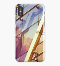 Facade in front of the mountains 2 iPhone Case/Skin