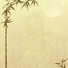 Chinese Dragon and Bamboo by algoldesigns