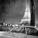 En voiture, Madame Eiffel by Isabelle  Delmotte