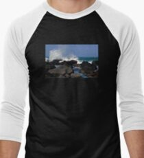 Causeway Waves Men's Baseball ¾ T-Shirt