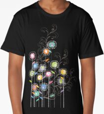 My Groovy Flower Garden Grows II Long T-Shirt