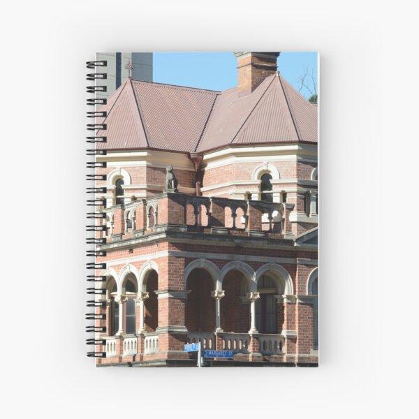Romanesque architecture in Brisbane Spiral Notebook