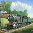 British Railways T9 4.4.0 by Mike Jeffries