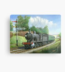 British Railways T9 4.4.0 Metal Print