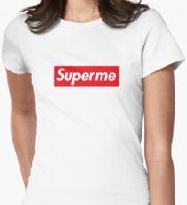 Superme Tailliertes T-Shirt