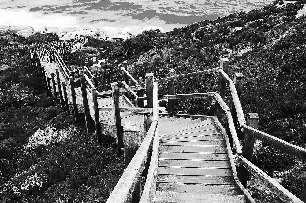 Stairway by Nadirehs