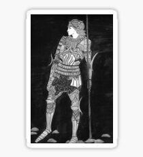 Knight in Shining Armour Sticker