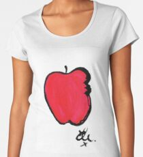 The apple Women's Premium T-Shirt