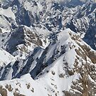 View from Zugspitze by Dominika Aniola