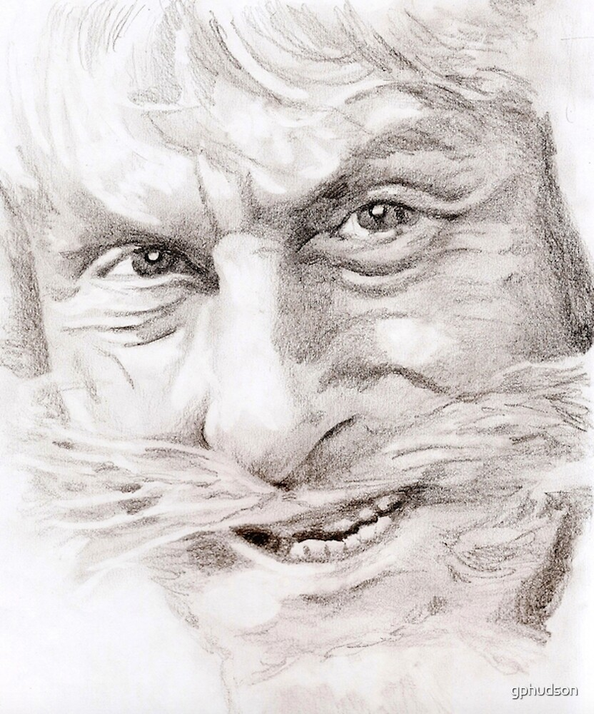 Catweazle close-up by gphudson