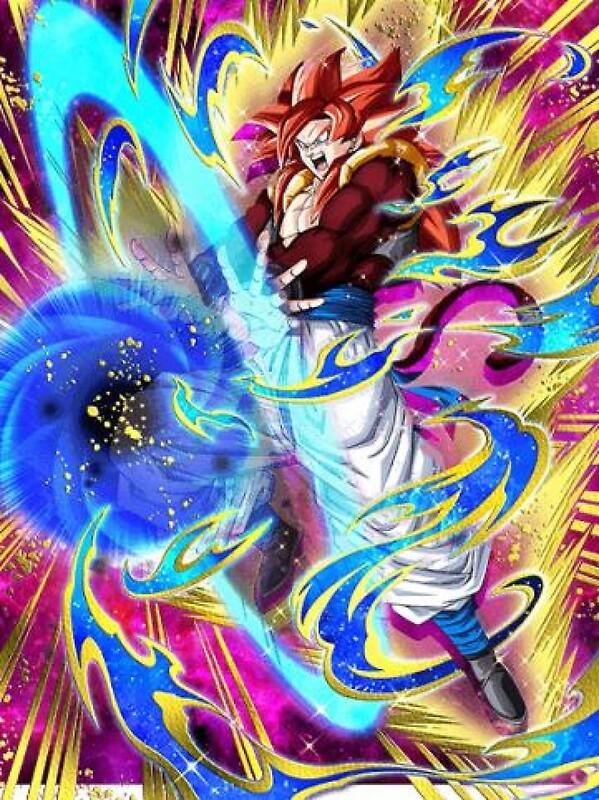 Quot Dragon Ball Gt Gogeta Ssj4 Dokkan Battle Quot Photographic